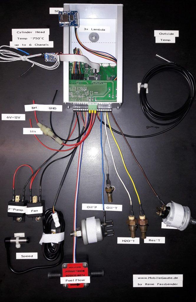 Verdrahteter Prototyp